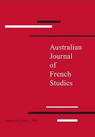 Australian Journal of French Studies