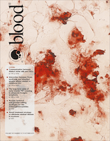 Journal cover: Blood