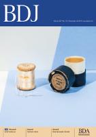 Journal cover: British Dental Journal
