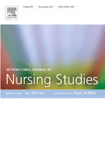 Journal cover: International Journal of Nursing Studies