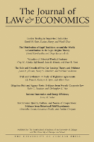 The Journal of Law & Economics
