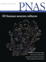 Cover of Proceedings of the National Academy of Sciences (PNAS)