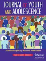 Journal cover: Journal of Youth and Adolescence