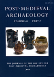 Post-Medieval Archaeology