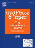 Journal cover: Child Abuse and Neglect