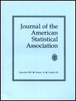Journal cover: Journal of the American Statistical Association