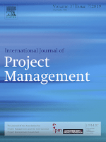 Cover of International Journal of Project Management