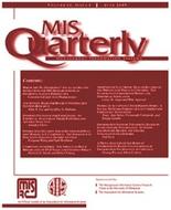 Cover of MIS Quarterly (MISQ)
