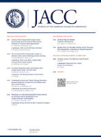Journal of the American College of Cardiology (JACC) journal cover