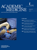 Academic Medicine journal cover