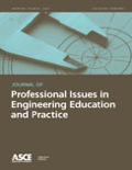 Cover image of ASCE Journal of Prof. Issues in Eng. Educ. & Practice