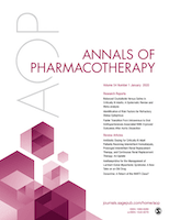Annals of Pharmacotherapy