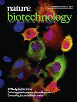 Cover of Nature Biotechnology