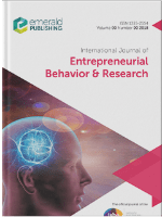 Cover of International Journal of Entrepreneurial Behaviour & Research