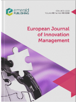 Cover of European Journal of Innovation Management