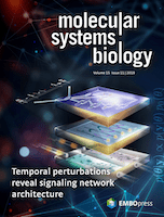 Cover of Molecular Systems Biology