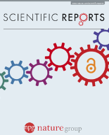 Journal Cover of Scientific Reports (Nature)