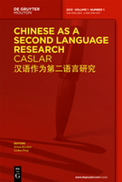 Chinese as a Second Language Research (CASLAR)