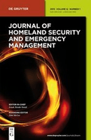Journal of Homeland Security and Emergency Management