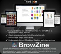 BrowZine Editable Device Poster - Thumb (Dark)