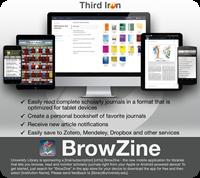 BrowZine Editable Device Poster - Thumb (Light)